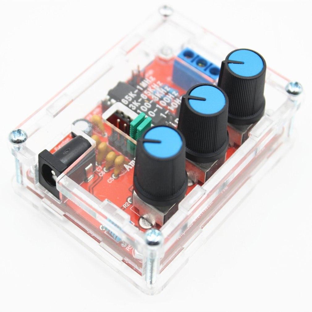 XR2206 אות פונקציה מחולל סינוס משולש כיכר גל פלט 1Hz-1MHz גבוהה דיוק תדר מתכוונן מודול DIY
