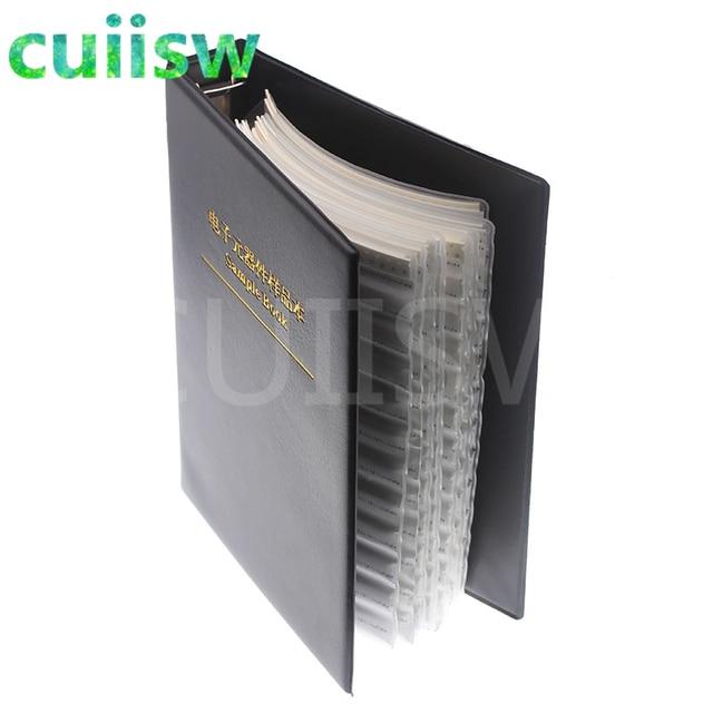 0805 SMD Capacitor Sample Book 92valuesX50pcs=4600pcs 0.5PF~10UF Capacitor Assortment Kit Pack 3
