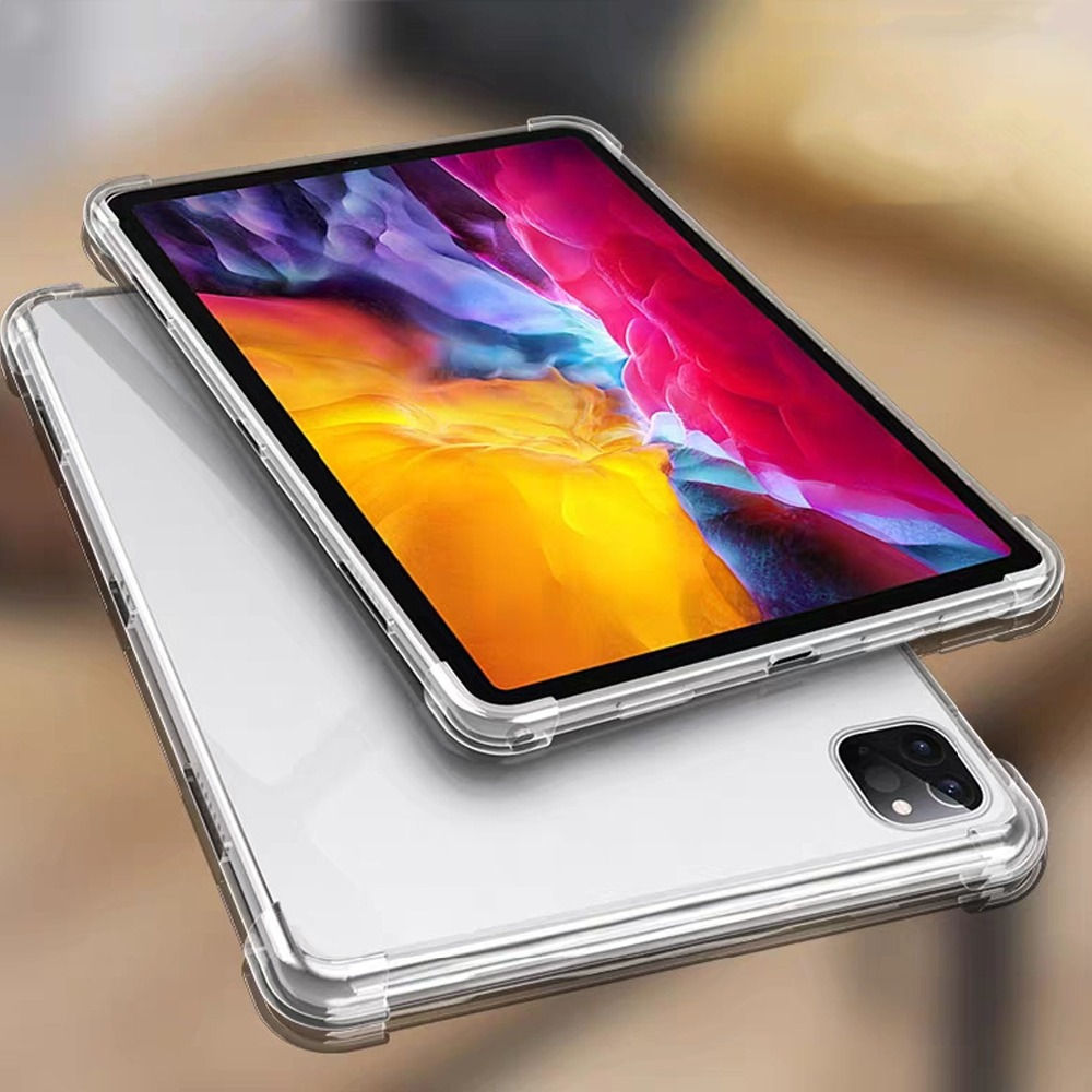 tablet iPad cover 11 case Pro inch silicone soft 11 Anti-fall for Case Clear TPU