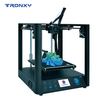 2020 Best Tronxy D01 3D Printer With Industrial Linear Guide and Titan Extruder CoreXY Structure Printing FLEXIBLE Filament