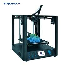 Tronxy impresora 3D D01 con guía lineal Industrial, Titan CoreXY extrusora, Impresión de estructura, filamento FLEXIBLE, 2020