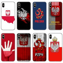 Poland flag football For iPhone 11 Pro XS Max XR X 8 7 6 6S Plus 5 5S SE 4s 4 iPod Touch Phone Case Back Cover(China)