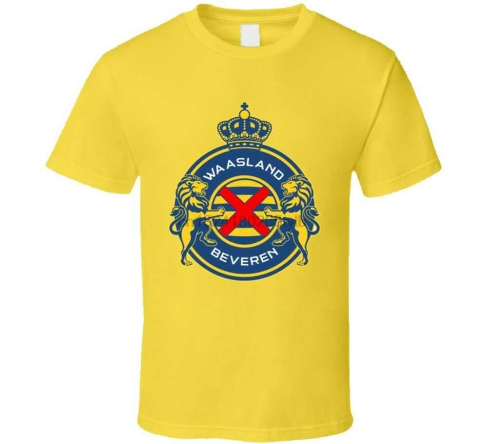 Waasland-beveren Football Club Squadra di Calcio Belgio Jupiler League T Shirt