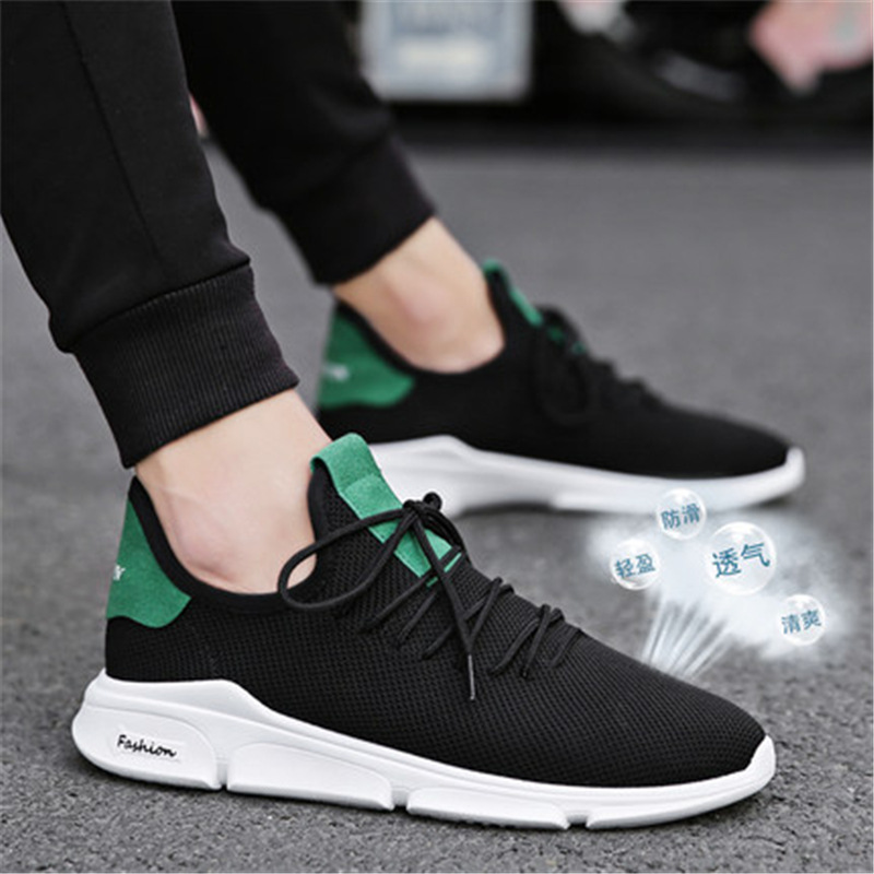 New Mesh Men Sneakers Casual Shoes Lac-up Men Shoes Lightweight Comfortable Breathable Walking Sneakers Zapatillas Hombre 033