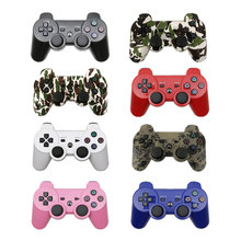For PS3 Wireless Bluetooth Controller For Play Station 3 Joystick Wireless Console For PC Dual Vibration Gamepad betop btp 2185 double vibration wireless gamepad games controller console control for pc for ps3 for android