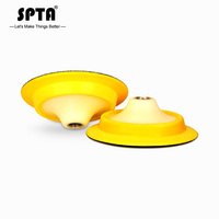 "SPTA 5""/6"" Backing Plate Backer Pad Hook&Loop Dual Action Car Polishing Buffing Buffer Pad Professional    Select Size