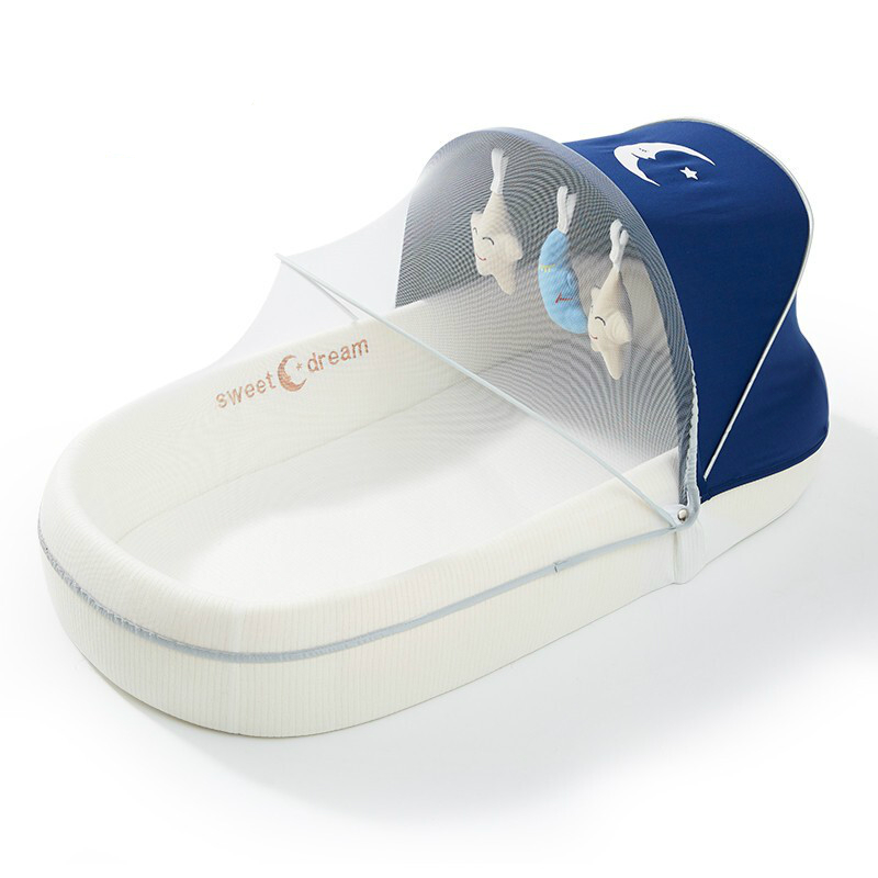 Portable Bed-in-bed Baby Bed Pressure-proof   Bionic Foldable Multifunctional Bb Bed For Neonates