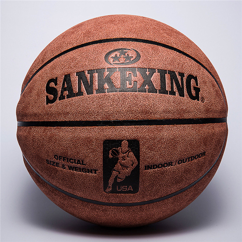 Basketball Professional Basketball Ball Size 7 Leather Indoor Outdoor Anti slip Team Sports Ball for Men Fitnees Balls