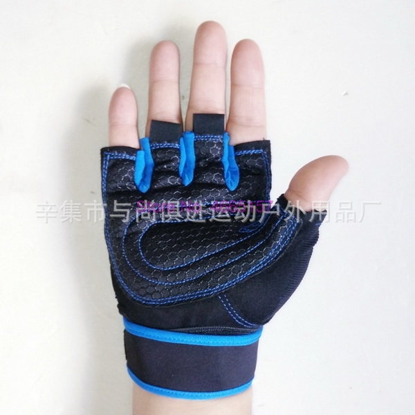Belt Barbell Weight Lifting-Gloves Body-Building Fitness Crossfit with for Anti-Slip