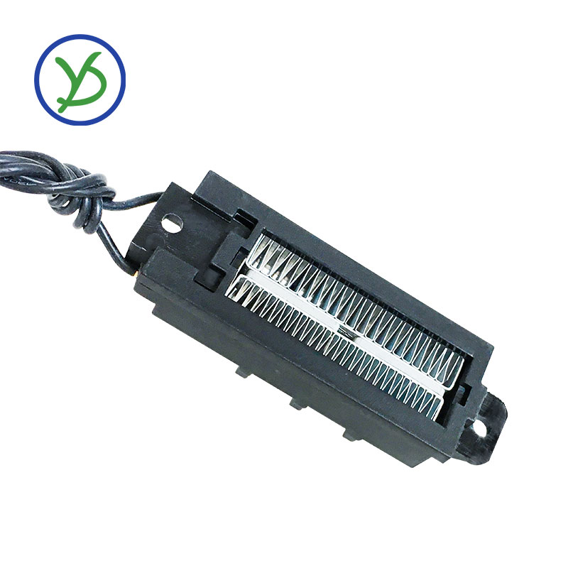 50W 12V Incubator Heater Thermostatic PTC Heater Ceramic Air Heater  Conductive Type Ceramic Heating Element 95*31mm