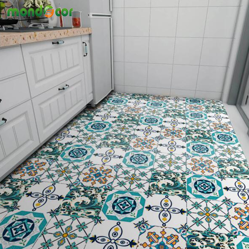 Fashion Self Adhesive Vinyl Tile Wallpapers For Kitchen Waterproof Contact Paper Art Diagonal Floor Stickers Home Decor Murals Wallpapers Aliexpress