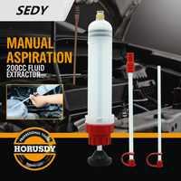 SEDY 200cc huile fluide extracteur et remplissage seringue bouteille transfert pompe à main automobile fluide Extraction voiture pompe à carburant voiture style