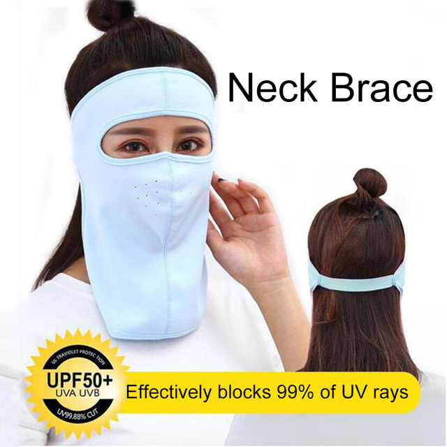 Protective mask Summer Unisex Outdoor Cycling Windproof UV Protection Neck Cover Full Face Mask Anti flu Anti Virus Mask 1
