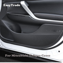 Car Interior Door Anti-Kick Pad Anti-dirty Protection Sticker For Mitsubishi Eclipse Cross Accessories 4PCS