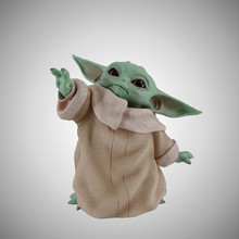 New Baby Yoda Action Figure Toy Cartoon Cute Figure PVC Model Toys Doll Gift For