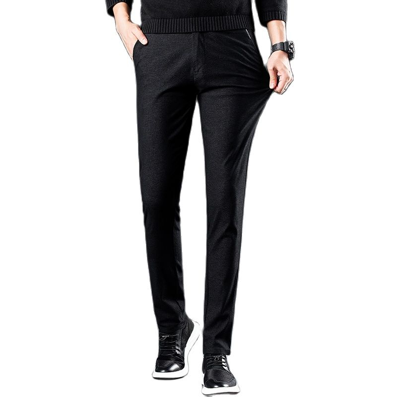 Men's Pants,Cargo Pants,2021 Men's Spring/Summer Pants Mens High-End Business Casual Pants Thin Ptretch Pants Stylish And Casual