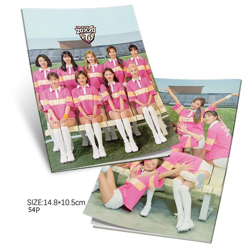 TWICE - 2020 Season's Greetings Mini Album K-pop Mini Photobook TWICE Photo Album Mini Book Photo Card Fans Collection