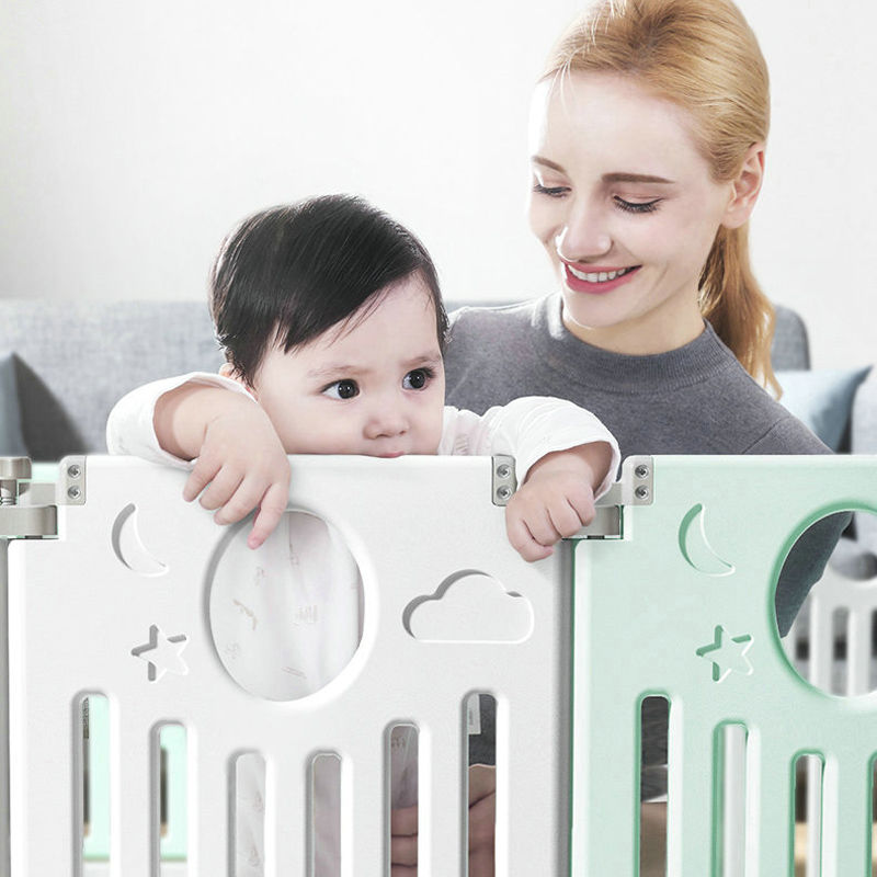 Children's Playpen 0-6 Years Indoor Home Baby Fence Toddler Safety Fence Playpen Kid Ball Pool Baby Activity Supplies