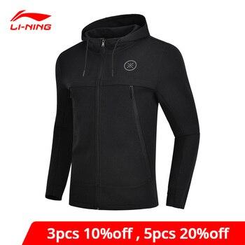 Li-Ning Men Wade Sweater 3D Fitting Regular Fit 66% Cotton 34% Polyester li ning LiNing Comfort Sports Hoodie AWDN901 MWW1480
