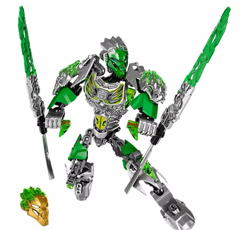 BionicleMask of Light Bionicle Lewa Uniter of Jungle New Arrival KSZ 610-1 Building Block Compatible with Bionicle 71305
