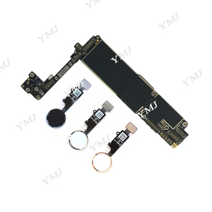 Image 4 - 64GB 256G 100% Original unlocked for iphone 8 Motherboard With/Without Touch ID,for iphone 8 Mobile phone motherboard with Chips