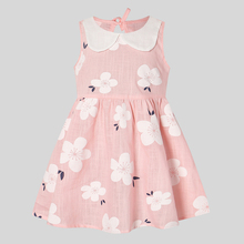 PatPat 2020 New Summer and Spring Baby Toddler Girls Floral Allover Ruffle Collar Sleeveless Dresses Colorful allover flamingo print ruffle cuff nightdress
