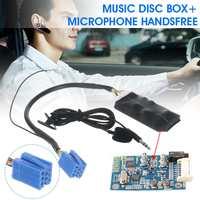 Per Volkswagen B5/Polo/Bola/Golf/Beetle A6 Auto Modulo bluetooth AUX-IN Audio AUX Cavo Handfree microfono Senza Fili Audio Cavo