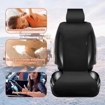 heated seat covers lighter leather seat heating for winter warmer cars motorcycle jeep seat cushion Temperature control  2 seats