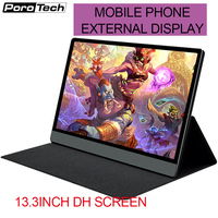 FHD 1080P Portable monitor with 13.3inch screen monitor for Ps4 Xbox Switch gaming laptop PC phone display screen