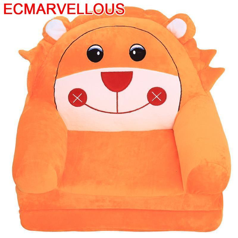 For Seat Sillones Infantiles Cute Lazy Boy Kids Bed Child Chair Baby Dormitorio Infantil Chambre Enfant Children Children's Sofa