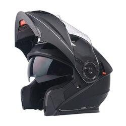 YEMA 927 Moto helmet male personality full-helmet winter four seasons general purpose off-road motorcycle Antifogging lens