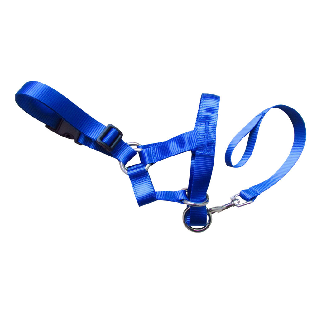 Pet Dog Head Collar Gentle Halter Leash Leader For Training Dogs Collar