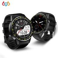 696 F1 ספורט GPS חכם שעון גברים F1 עם מצלמה תמיכה פדומטר Bluetooth 4.0 כרטיס ה-SIM שעוני יד עבור IOS אנדרואיד טלפון
