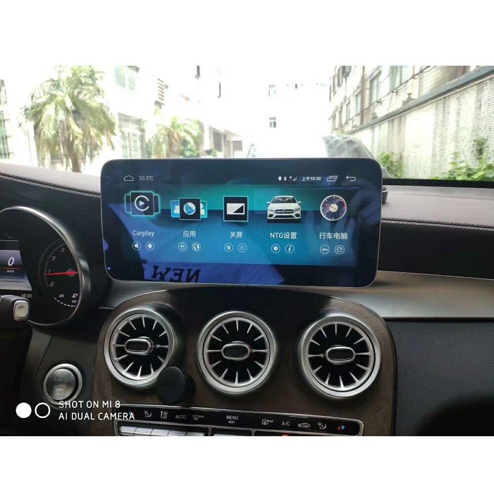 10.25 pouces 4 + 64G Android affichage pour Mercedes Benz GLC C classe W205 2015-2018 voiture Radio écran avec GPS Navigation Bluetooth - 3