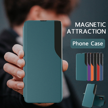 Magnetic Smart Case For Huawei P40 P30 P20 Pro Lite Mate 40 20 Pro Honor 10 Lite 9S 9A P Smart 2019 Z Nova 7i Stand Phone Cover 1