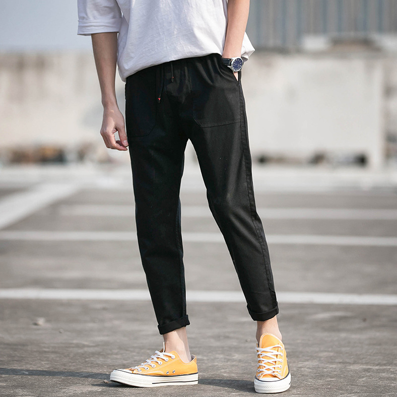 2020 Casual Skinny Pants Mens Joggers Sweatpants Fitness Workout Brand Track pants New Autumn Male Fashion Trousers