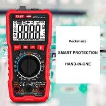 Multímetro digital ac/dc amperímetro volt ohm tester medidor multimetro com termopar lcd backlight tela portátil