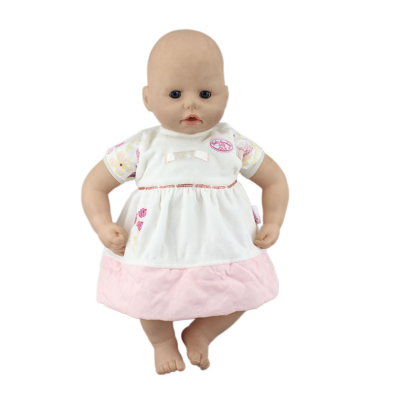 New Fashion Doll Clothes Wear fit 18inch 46cm Baby Doll Clothes and Accessories Children best Birthday(China)