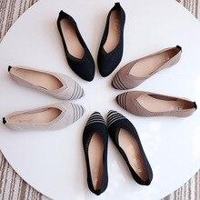 2019 New Spring Women Flats Shoes Leopar