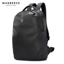 MANEBRCE 2019 New Mens Fashion Trend Backpacks Male Popular College Students Bag Casual Simple Large Capacity Free Shipping