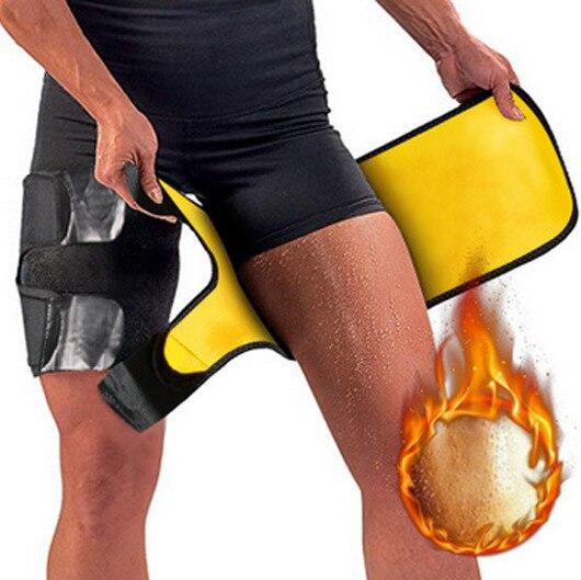 Leg Slimming Belt Shaper Sauna Sweat Thigh Trimmers Slender Heater Dhaper Legs Belt Wrap 1