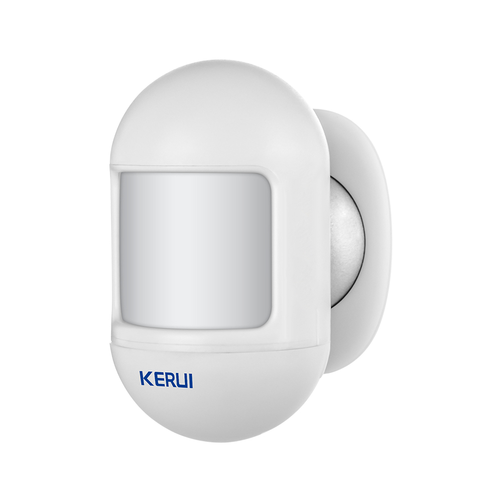 KERUI P831 Wireless Mini Automatic  Movable Angle Home Security PIR Infrared Motion Detector Compatible With KERUI Alarm System 1