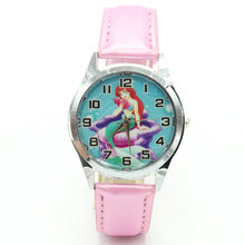 Mermaid cartoon quartz watch, foreign trade student casual s