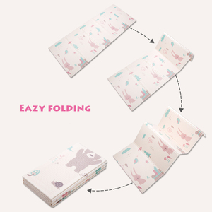 Image 3 - Infant Shining Foldable Baby Play Mat Thickened Tapete Infantil Home Baby Room Puzzle Mat  XPE 150X200CM Splicing 1CM Thickness