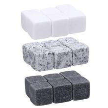 1 пакет, натуральные камни для виски, потягивающий кубик льда, камень для виски, рок-кулер, свадебный подарок, рождественский кулер, камни-кубики для льда