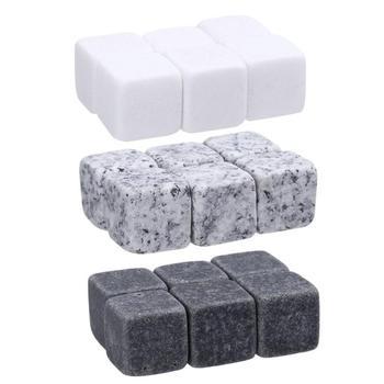1 worek naturalne kamienie Whisky popijając kostki lodu do Whiskey kamień Rock Cooler prezent ślubny Favor Christmas Bar Cooler kostki lodu kamienie tanie i dobre opinie CN (pochodzenie) Chłodnic wina i agregatów Ce ue Other Ekologiczne Zaopatrzony Ice Cube Whisky Stone granite Geometry