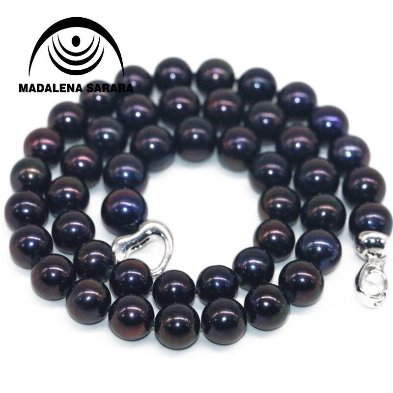 MADALENA SARARA offre spéciale élégante princesse Style 8-9mm Baroque collier de perles d'eau douce ensemble