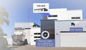 Image 3 - MISECU H.265 8CH 4MP güvenlik kamerası sistemi POE NVR kiti 2.8 12mm Zoom açık su geçirmez 4MP POE IP kamera p2P güvenlik gözetleme