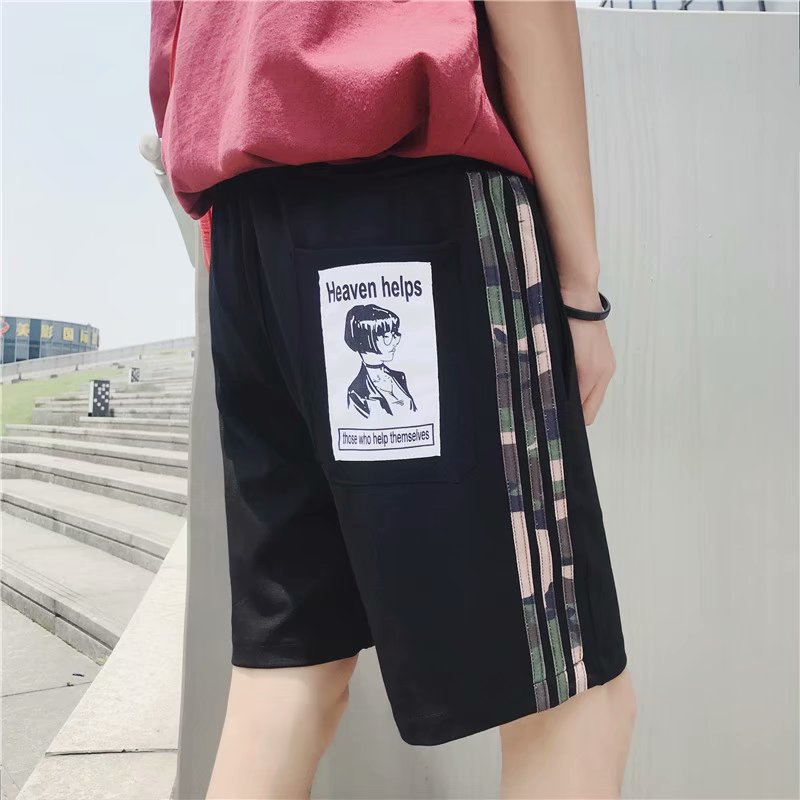 2018 Summer Men Fifth Pants Breathable Casual Sports Pants Korean-style 5 Shorts Men's Quick-Dry