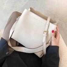 Маленькие сумки ведра swdf из искусственной кожи для женщин